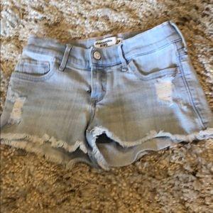 Girls Abercrombie Jean shorts